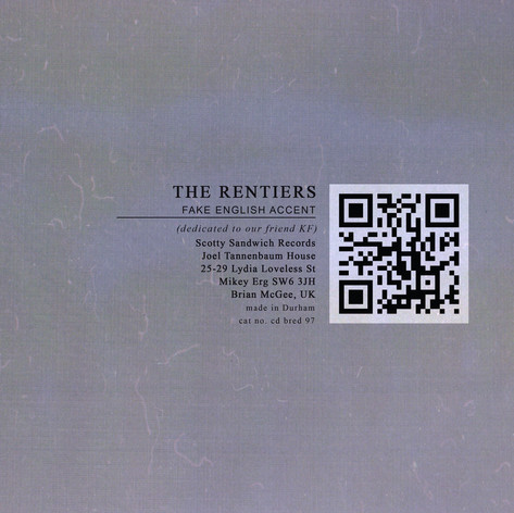THE RENTIERS - FAKE ENGLISH ACCENT
