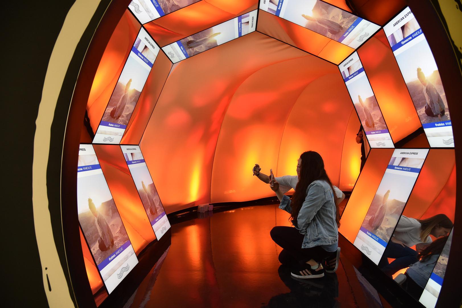 Tunnel & kaleidoscope