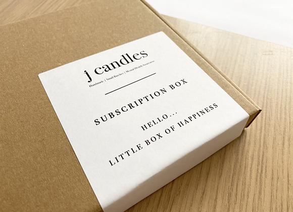 Pre-paid Subscription Box