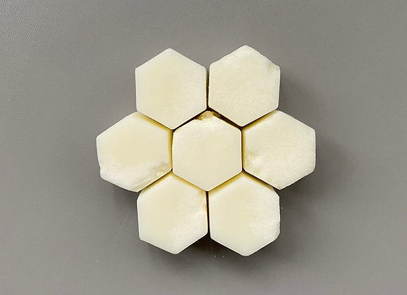 Coconut Hexagon Melts