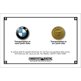 A big idea, this simple small space ad brought home the gold at a number of award shows.