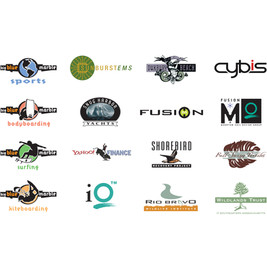 Logos done for various clients.