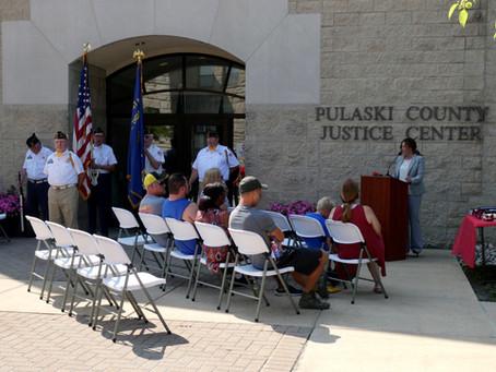 Pulaski County Veteran's Court Graduation