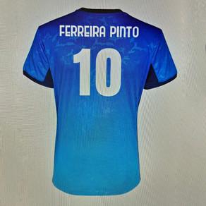 Disponibile la maglia Limited Edition firmata Adriano Ferreira Pinto! 💙⚽️