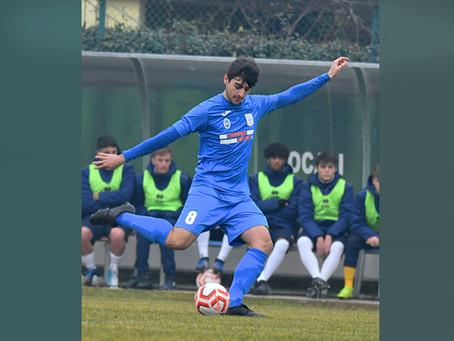 Esordio in Serie D Nazionale per Angelo Ametrano! 💙⚽️