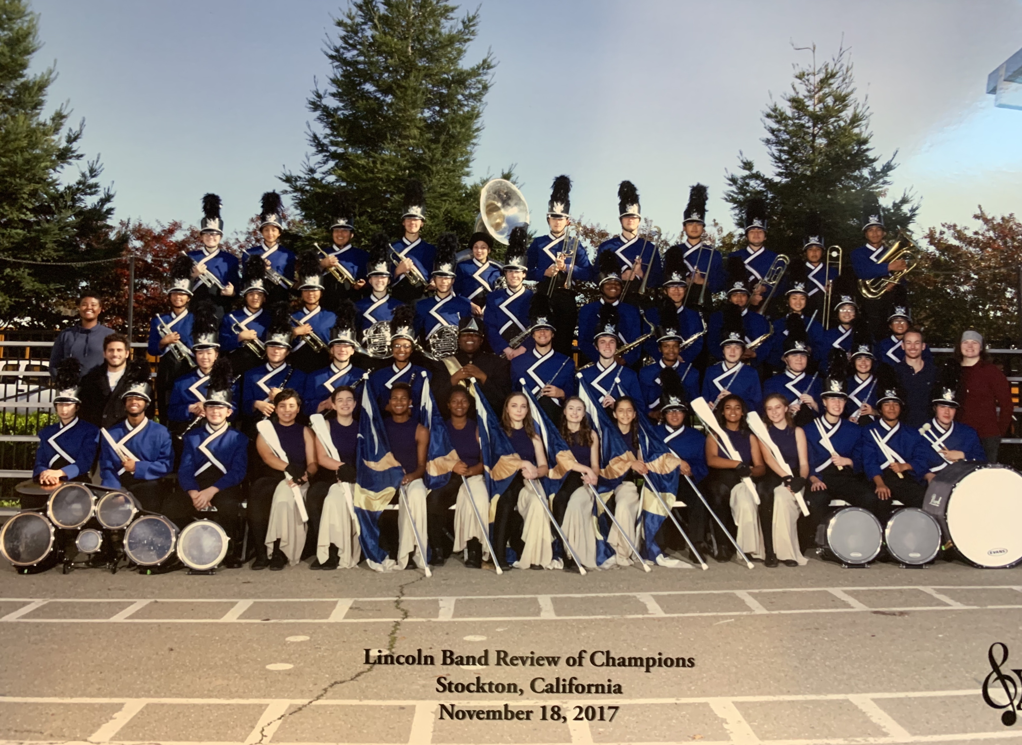 Marching Band Lincoln 2017
