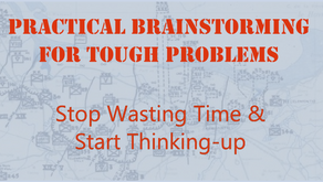 Brainstorming:  Turning a Time-waster into an Idea-generator