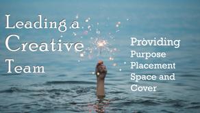 Leading a Creative Team