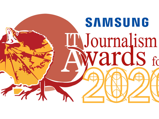 2020 Samsung Australian IT Journalism Awards Reminder