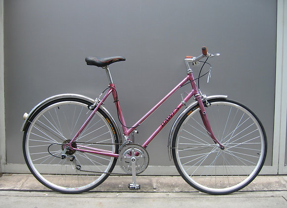 Metallic Pink Dawes Step Thru