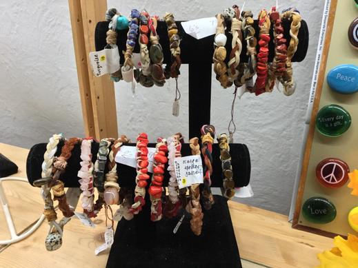 Natural Gemstone Bracelets
