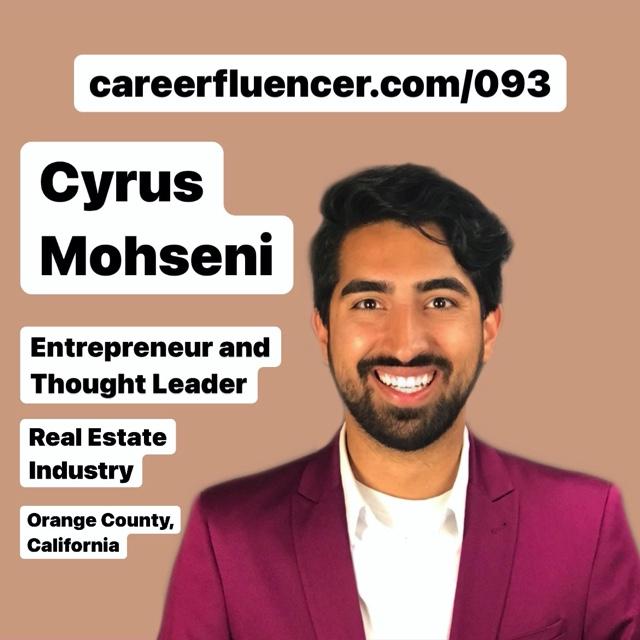 CyrusMohseniCareerfluencer