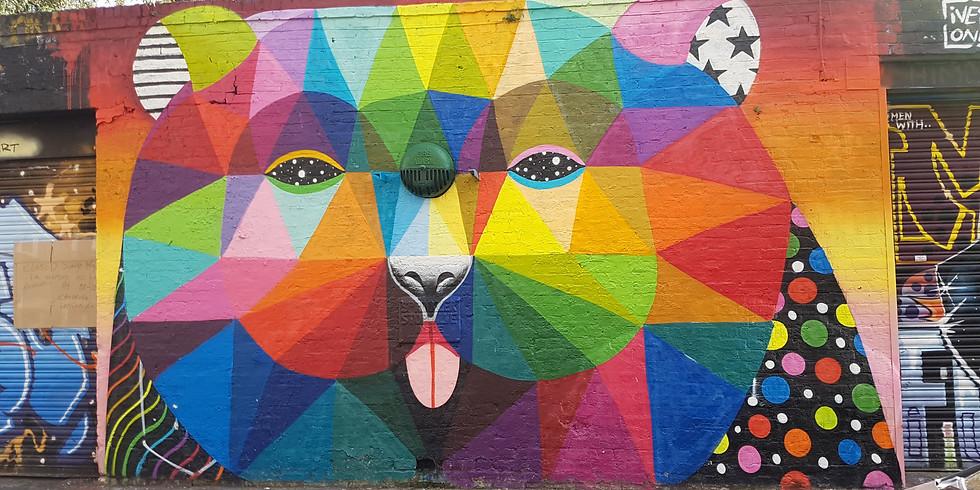 Street Art walking tour - South Route