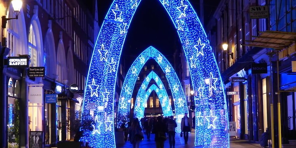 WATCH BACK - LIVE Christmas lights tour