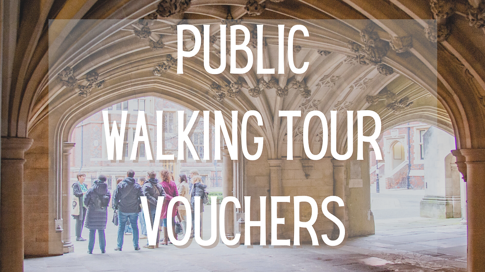 Public Walking Tour Voucher