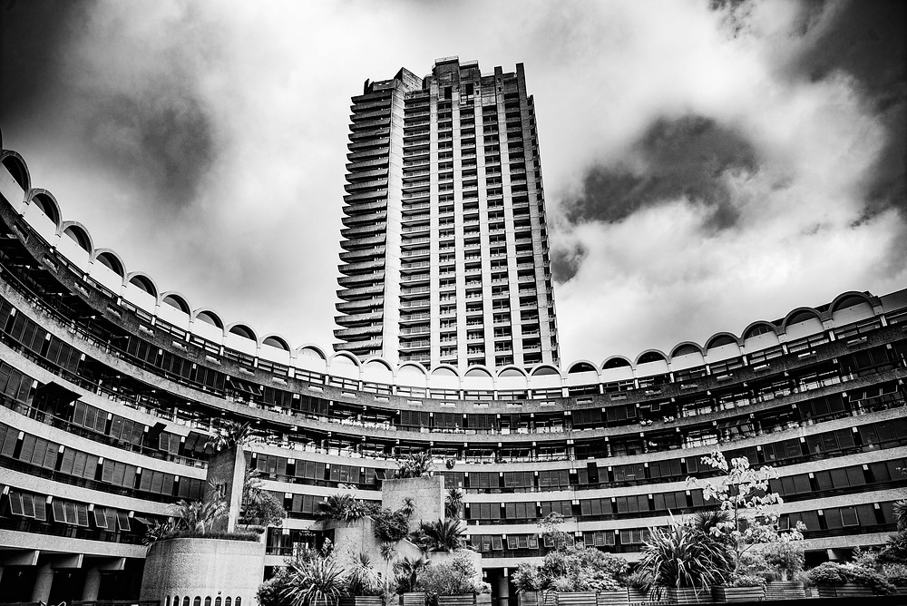 Barbican brutalist architecture