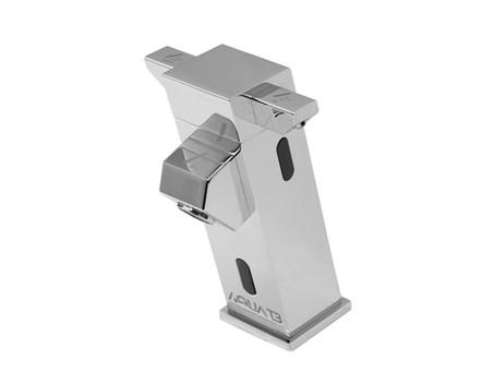 A torneira com sensor, que contempla 3 saídas automáticas