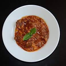 Burmese Style Beef with Dal (lentil)