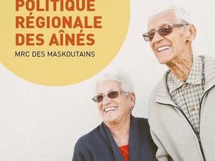 Municipalité amie des aînés - La MRC des Maskoutains obtient 88 000 $