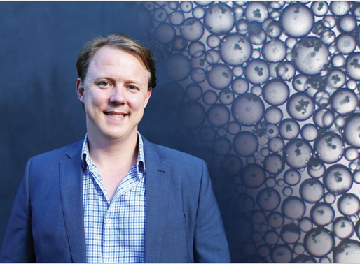 Create Magazine's July edition features Dr Chris Jeffery