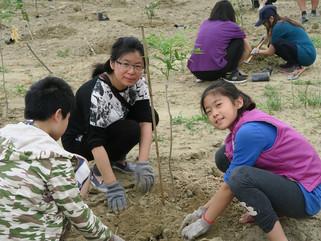 25種樹勇士,岡山種樹300棵