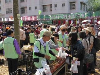【2015朝禮法會】參展推廣種樹,送出樹苗10080棵