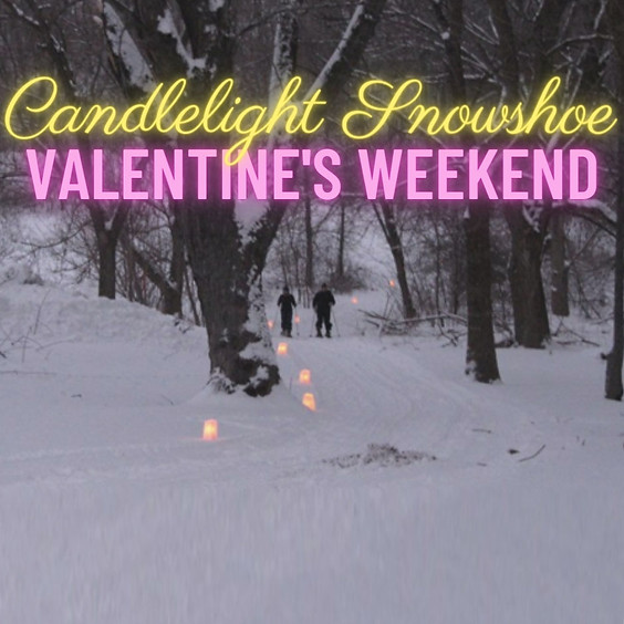 Candlelight Snowshoe in the Orchard