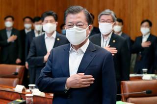 新冠病毒衝擊下,混沌不明的南韓國會選舉盤勢