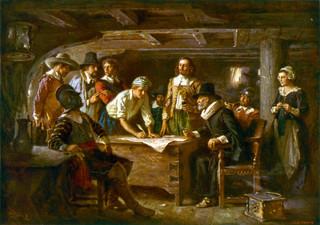 「五月花盟約」(Mayflower Compact)對美台人民的啟示