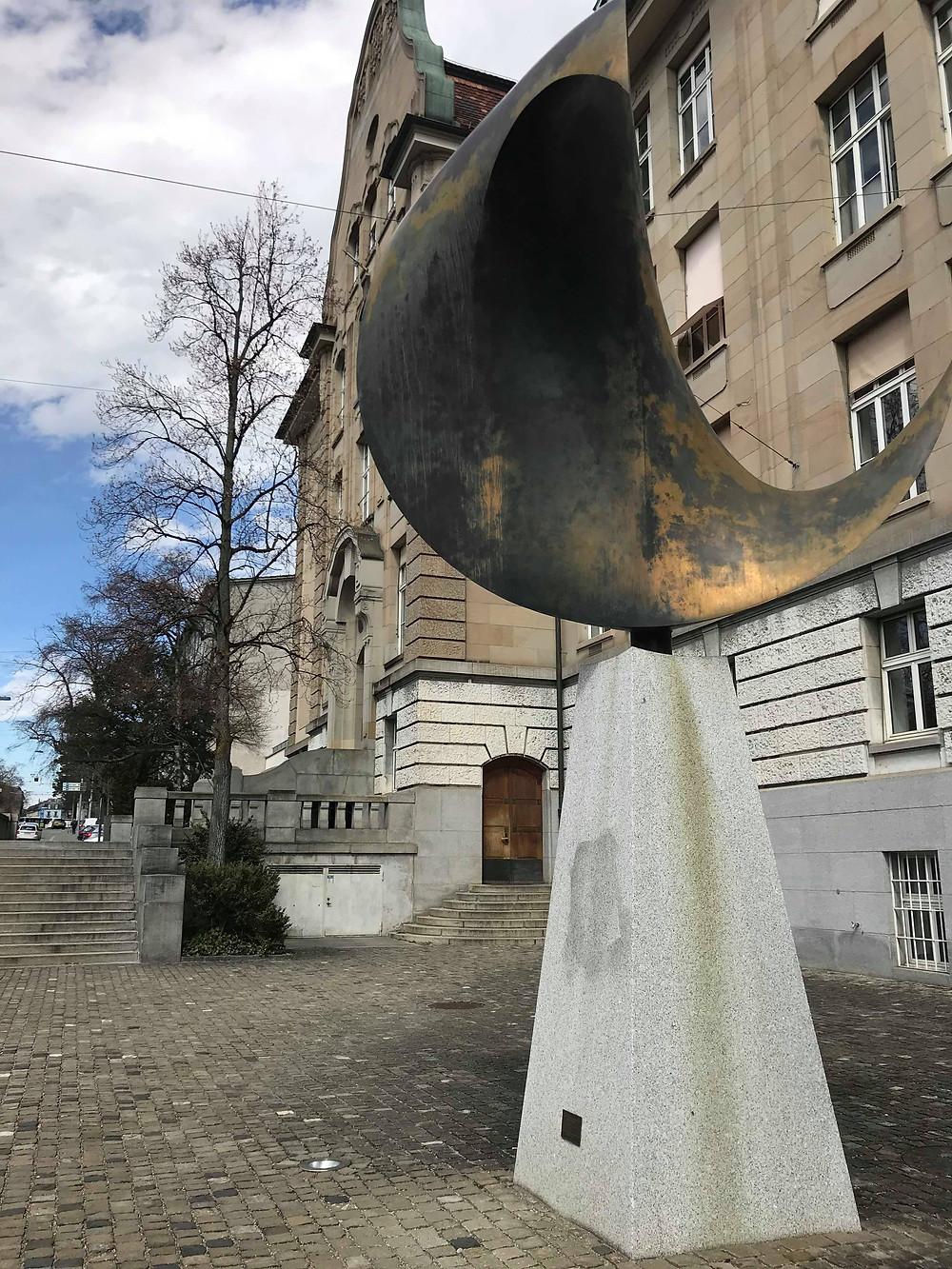 蘇黎世大學一景。圖片來源:許恩恩攝影