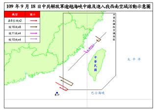 談中國戰機侵入台灣防空識別區的動機
