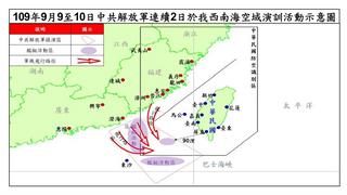 中國不承認海峽中線的國防與戰略意義