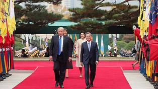 川普的日韓巡訪對韓半島情勢之影響