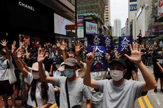 在香港直接插入「國安法」── 美中脫鉤波及東亞的第一衝突點