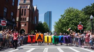 用進步價值團結我們:台灣人參加波士頓同志大遊行