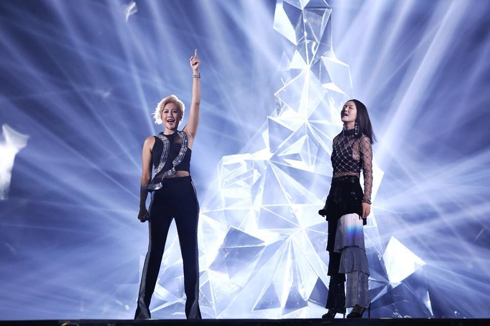 譚維維,此次再戰金曲,牽起A-Lin在《我是歌手》的戰友情誼。圖片來源:金曲 GMA粉專
