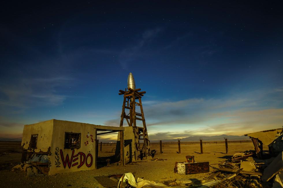 Abandoned Rocket Launch