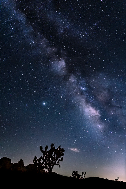 Milky Way at My Back