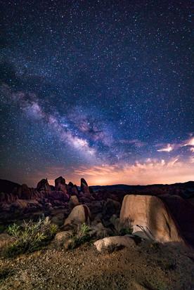 A Desert Milky Way