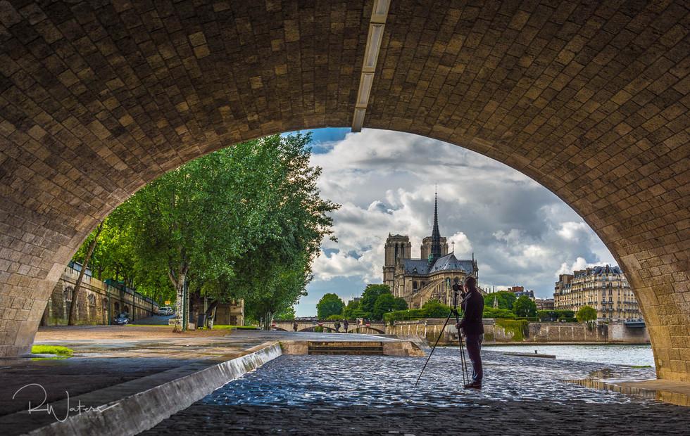 Photographer on the Seine