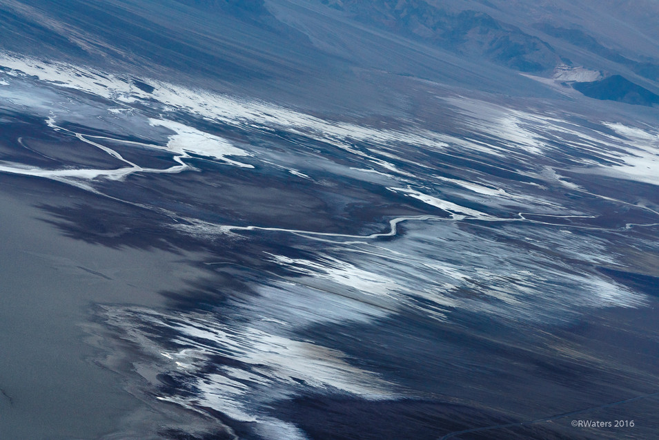 Salt Patterns Badwater Basin