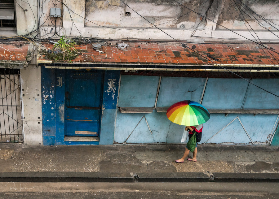 A Rainbow in Havana