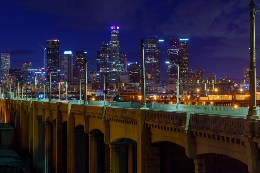 Nightscape on the Bridge