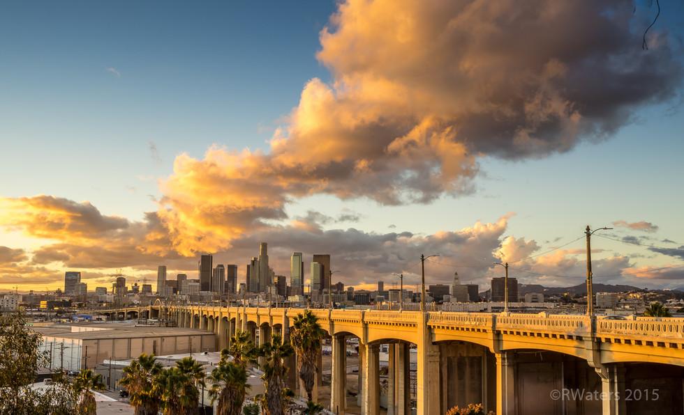 The Sun is Setting on the Bridge