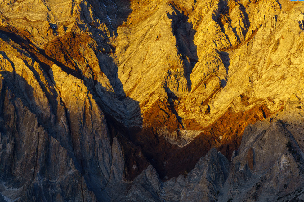 Mountain Abstract At Convict Lake