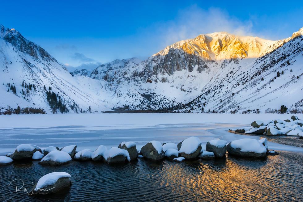 Convict Lake Winter Sunrise