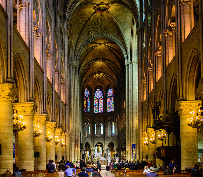 Sunday at Cathedral Notre Dame