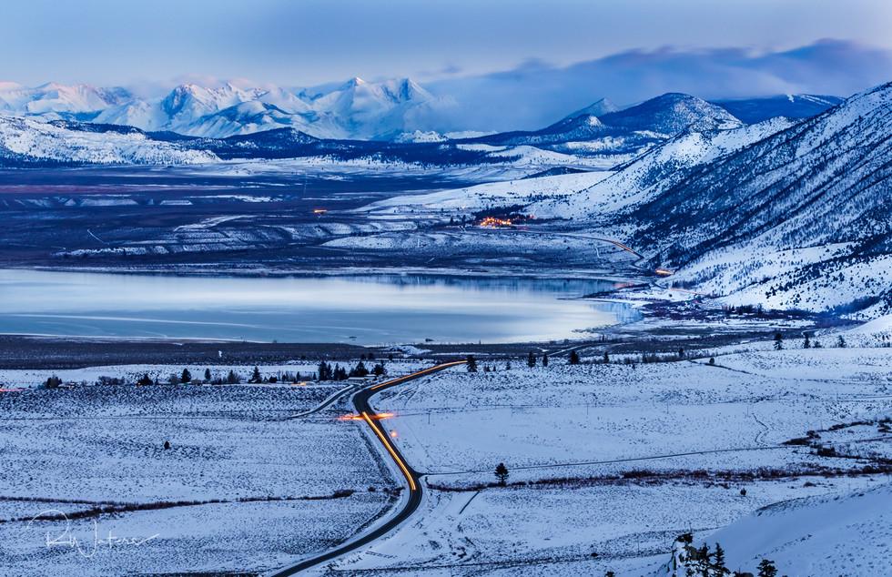 Snowy Mono Lake