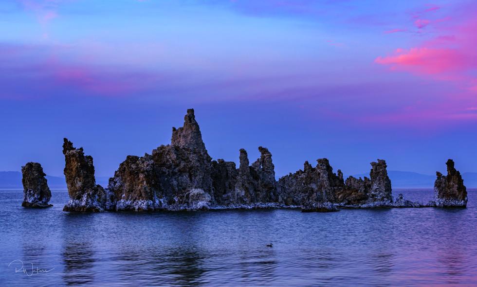 Mono Lake Tufas In Living Color