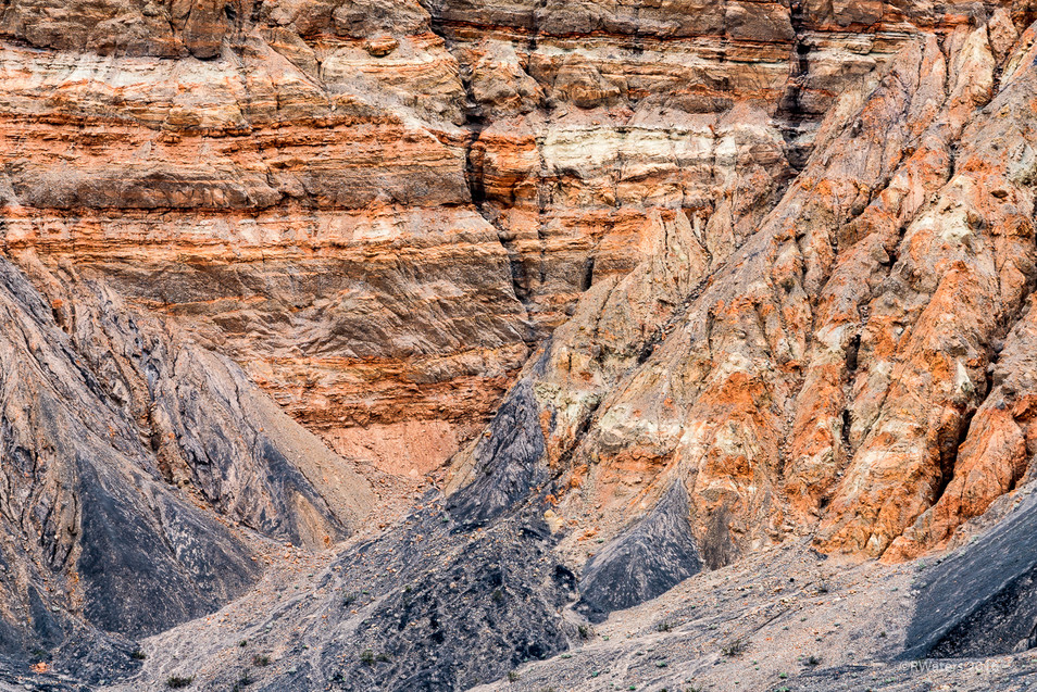 Ubehebe Crater Abstract